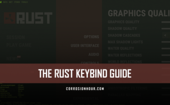 The RUST Keybind Guide