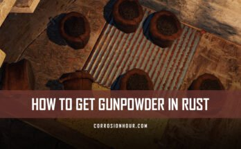 How to Get Gunpowder in RUST