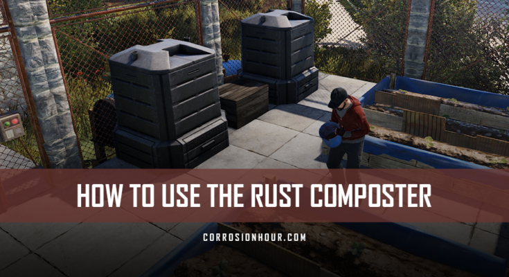 How to Use the RUST Composter