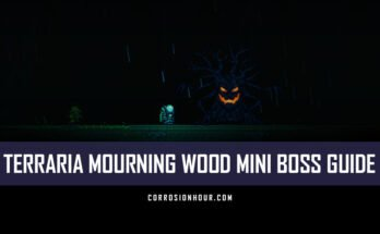 Terraria Mourning Wood Mini Boss Guide