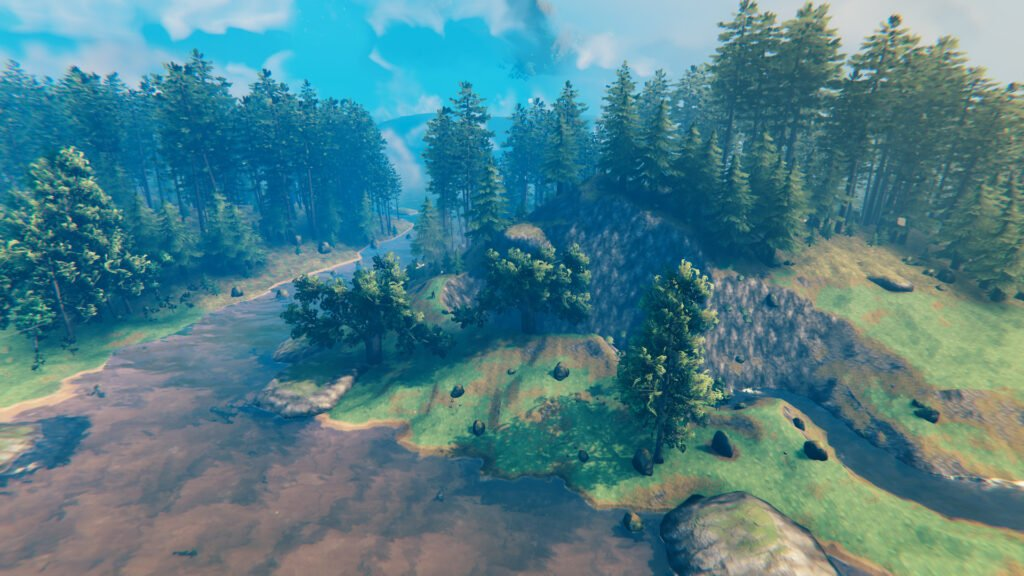 Valheim's World is Epic, Beautiful, and Mysterious