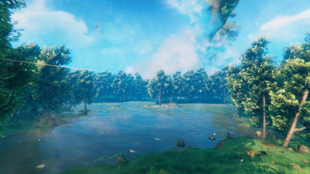 Valheim's scenery and environment
