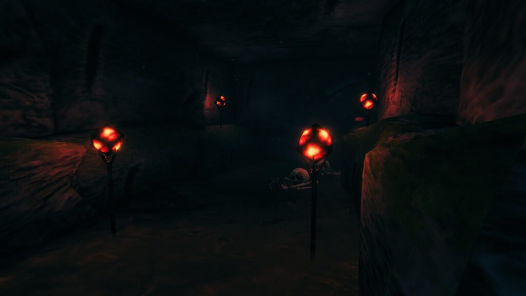 Valheim's Surtling Cores inside the Burial Chambers