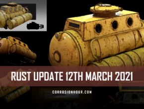 RUST Update 12th March 2021