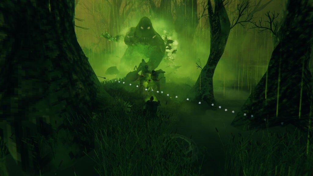 Bonemass Swamp Swipe Attack