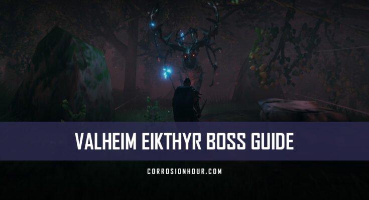 Valheim Eikthyr Boss Guide & Strategy