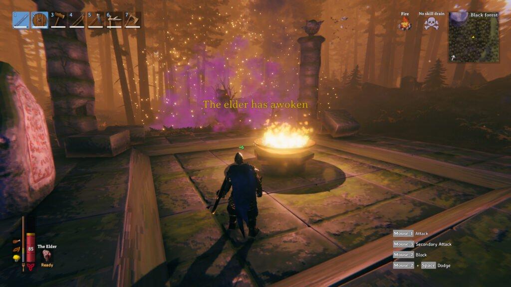 The Elder has been summoned!