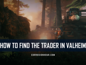 how to find the trader in valheim
