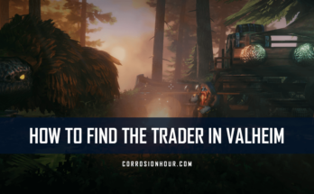 how to find the trader in valheim