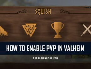 valheim how to enable pvp
