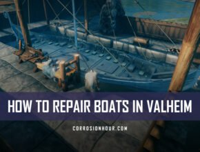 How to Repair Boats in Valheim