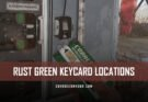 RUST Green Keycard Locations