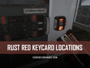 RUST Red Keycard Locations