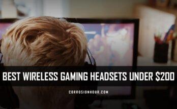 Best Wireless Gaming Headsets Under $200