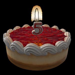 RUST Birthday Cake