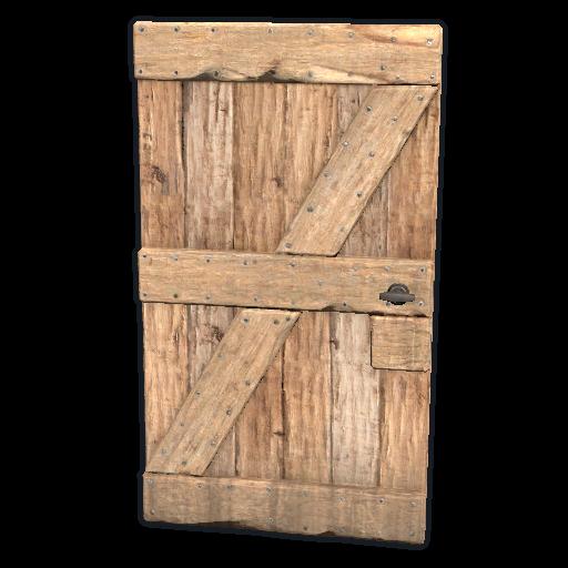 image of rust item Wooden Door