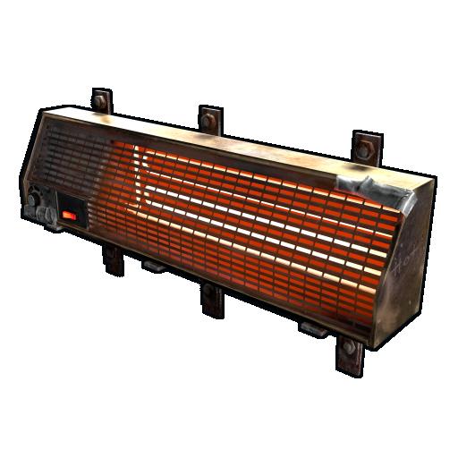 image of rust item Electric Heater