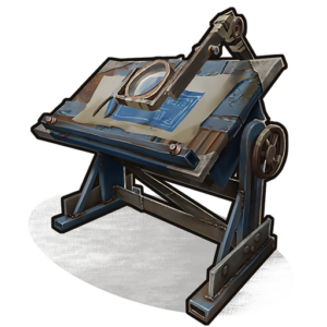 icon of rust item research table