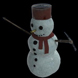 icon of rust item snowman