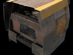 RUST Armored Cockpit Vehicle Module