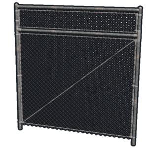 RUST Chainlink Fence