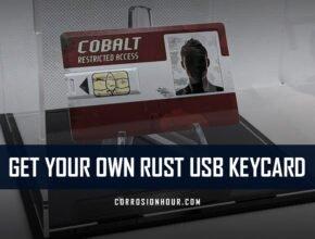 Get Your Own RUST USB Keycard