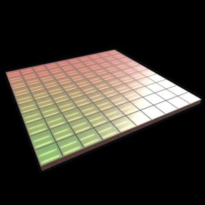 rust disco floor