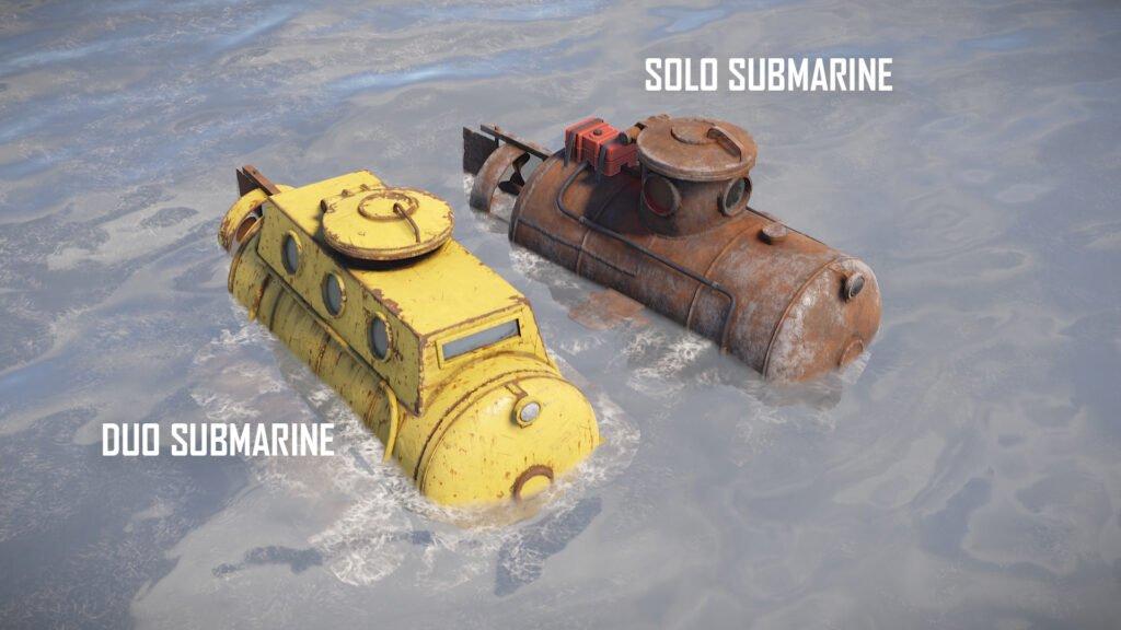 RUST Submarines (Solo & Duo)