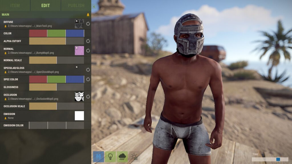How to get RUST Skins on Workshop