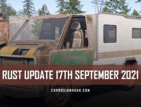 RUST Update 17th September 2021
