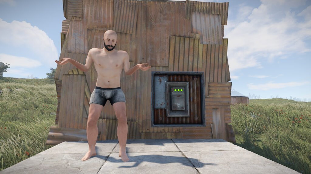 Why not use bunker bases in RUST?