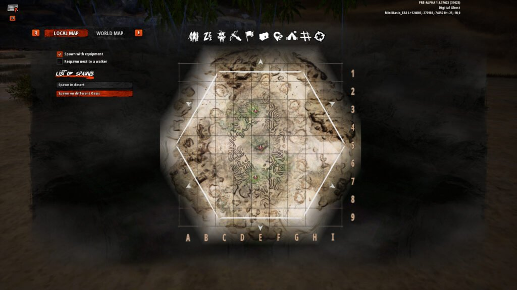 Last Oasis Map Overview