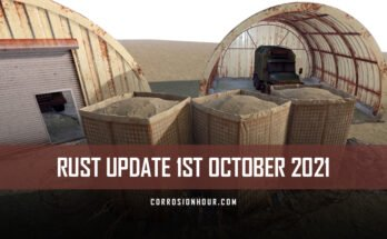 RUST Update 1st October 2021