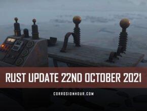 RUST Update 22nd October 2021